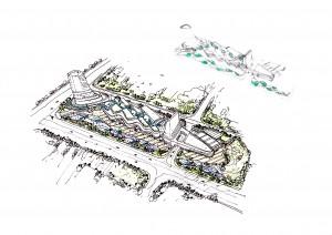 SCPG Nantong InCity Concept Sketch
